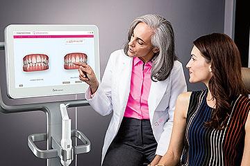 Invisalign - 3D prikaz končnega stanja zdravljenih zob